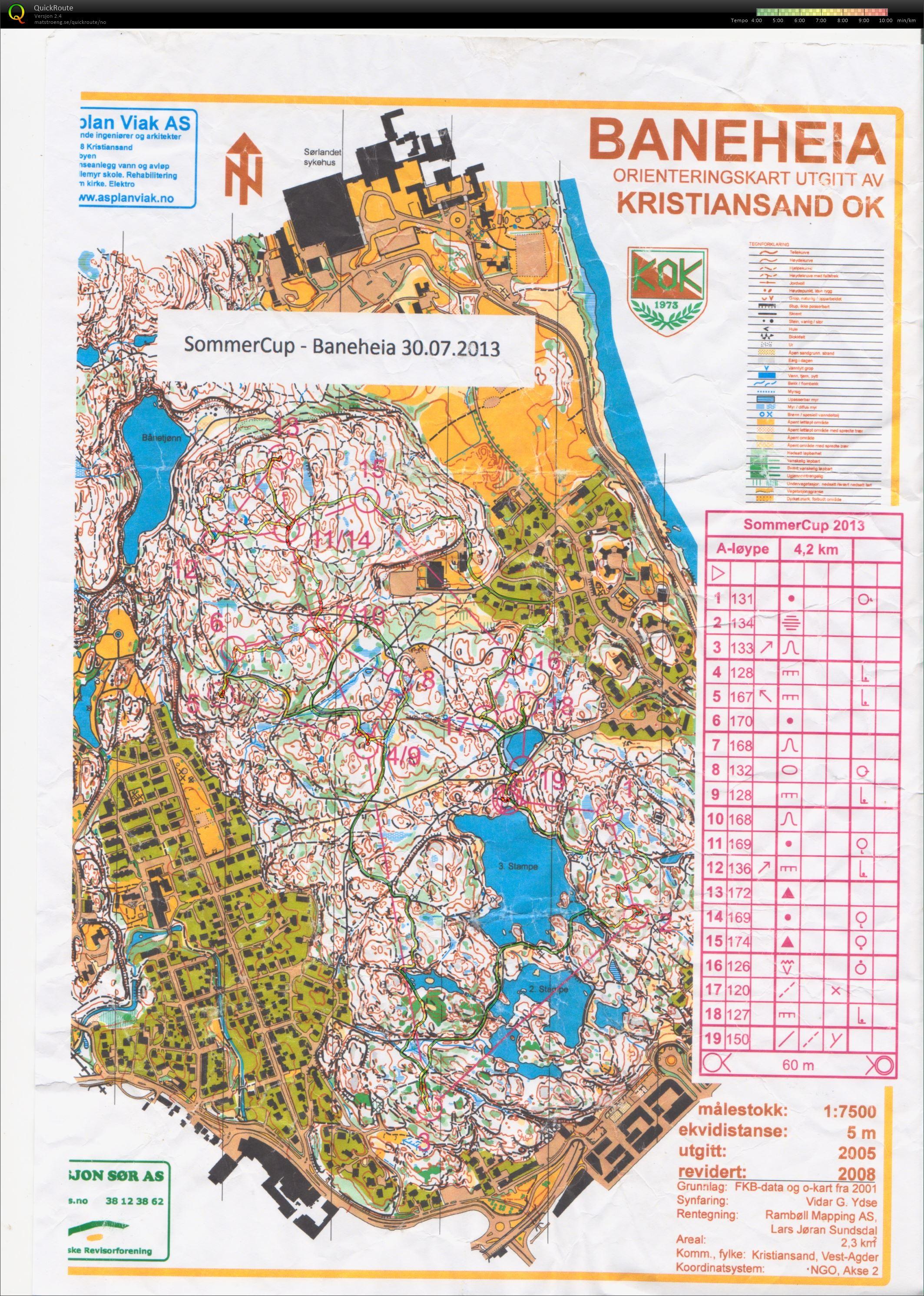 baneheia kart My digital orienteering map archive :: Sommercup Baneheia (30.07.2013) baneheia kart