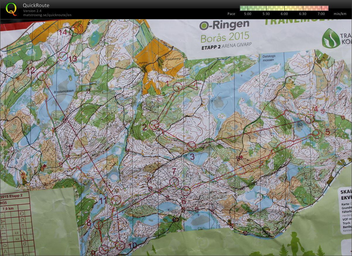 My Digital Orienteering Map Archive 20 07 2015